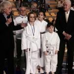 I Maestri Romani e Piccini premiano due giovani karateka