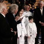 La premiazione del Maestro Piccini